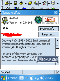 ArcPAD review