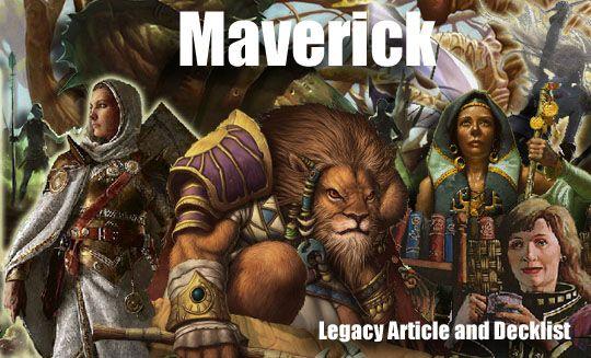 Maverick G/W/x 绿白武具 套牌分析(不断更新中) MTG